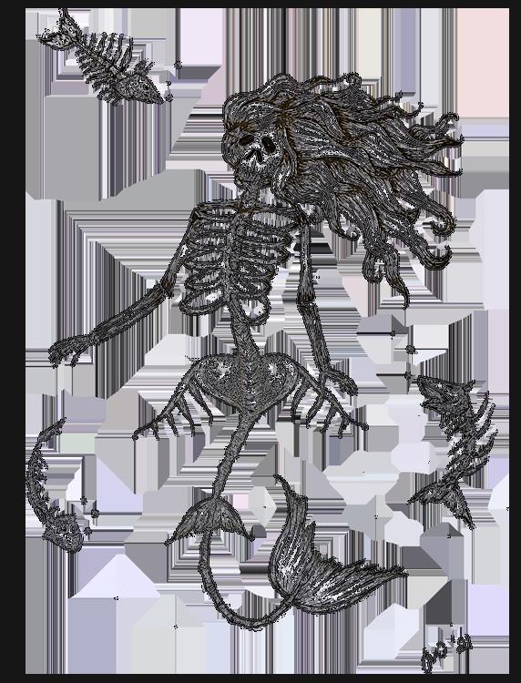 Salt Fish Mermaid